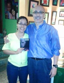 12 Presentación novela CASINO, del escritor chileno Patricio Milad, en Café Galería PIQ ART