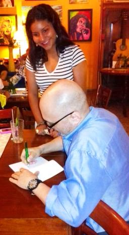 2 Presentación novela CASINO, del escritor chileno Patricio Milad, en Café Galería PIQ ART