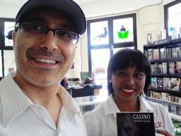 2 Presentación novela CASINO, del escritor Patricio Milad, en Librería LISER