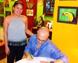 3 Presentación novela CASINO, del escritor chileno Patricio Milad, en Café Galería PIQ ART