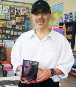 3 Presentación novela CASINO, del escritor Patricio Milad, en Librería LISER