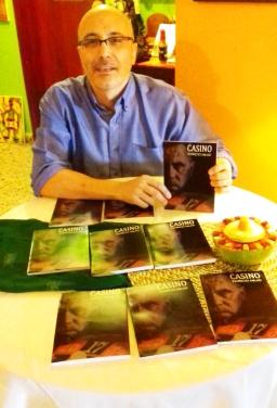 5 Presentación novela CASINO, del escritor chileno Patricio Milad, en Café Galería PIQ ART