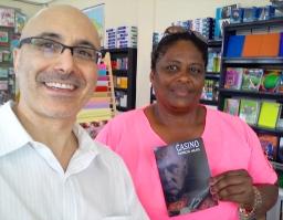 5 Presentación novela CASINO, del escritor Patricio Milad, en Librería LISER