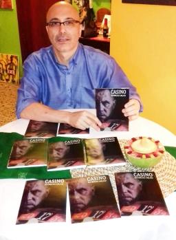 6 Presentación novela CASINO, del escritor chileno Patricio Milad, en Café Galería PIQ ART