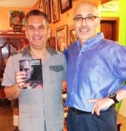 7 Presentación novela CASINO, del escritor chileno Patricio Milad, en Café Galería PIQ ART