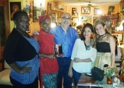 9 Presentación novela CASINO, del escritor chileno Patricio Milad, en Café Galería PIQ ART