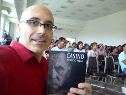 Lanzamiento de la novela CASINO, en CEUTEC, por el escritor PATRICIO MILAD 1