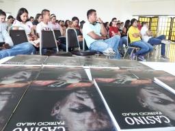 Lanzamiento de la novela CASINO, en CEUTEC, por el escritor PATRICIO MILAD 9
