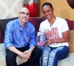 Presentando Novela ONIRIS en CADA MAÑANA de 45TV
