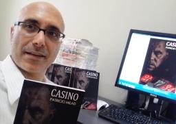 Pronto al lanzamiento de CASINO, tercera novela del escritor chileno PATRICIO MILAD