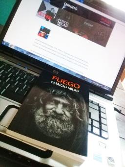 Novela FUEGO, del escritor chileno Patricio Milad
