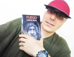 Novela FUEGO. Escritor chileno Patricio Milad...